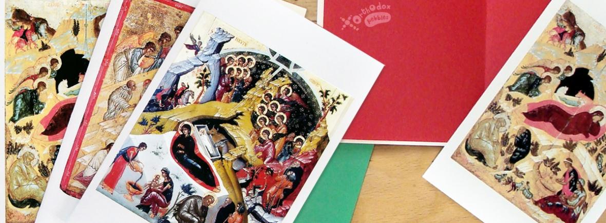 DIY Orthodox Christmas cards – Orthodox Pebbles
